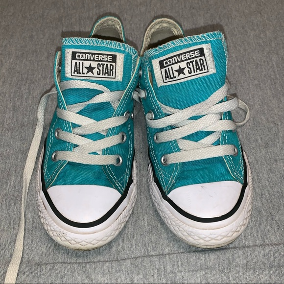 Converse Shoes | Teal Girls | Poshmark